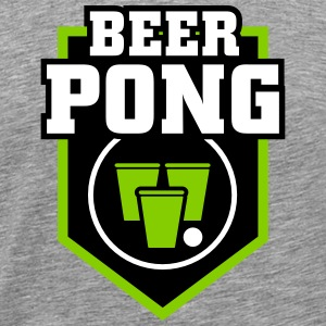 Beer Pong Patch - Männer Premium T-Shirt