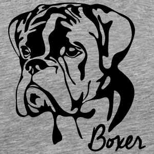 BOXER PORTRAIT - Men's Premium T-Shirt
