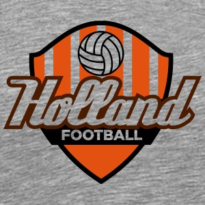 Fotball Crest Holland - Premium T-skjorte for menn