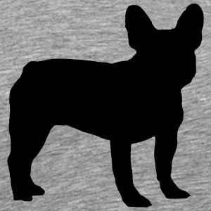 Fransk Bulldog - Frenchie - Premium T-skjorte for menn