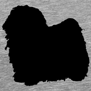 Vector dog silhouette - Men's Premium T-Shirt