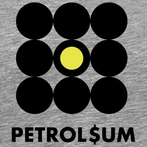 petroleum - Premium T-skjorte for menn