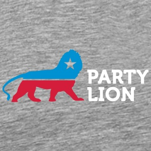 Political Party Animals: Lion - Men's Premium T-Shirt