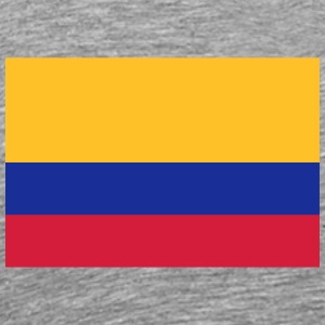 National Flag Of Colombia - Herre premium T-shirt