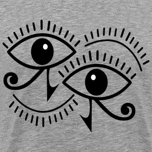 horus eye - Men's Premium T-Shirt