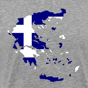 HELLAS / GREECEh - Premium T-skjorte for menn