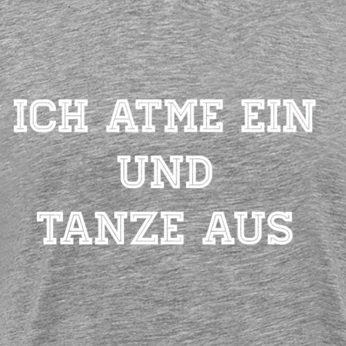 Ausstanzen deu - Männer Premium T-Shirt