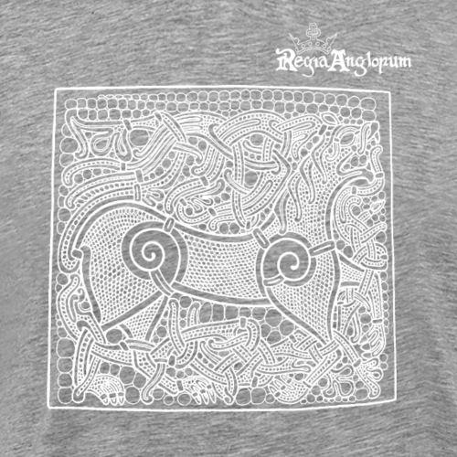 Regia TShirt Beastie White - Men's Premium T-Shirt