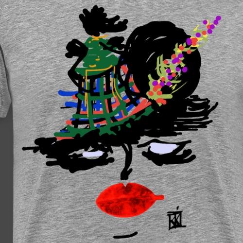 FACCE_DI_MòKIKA_SC - Maglietta Premium da uomo