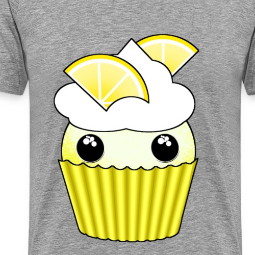 Kawaii lemon cupcake - Men's Premium T-Shirt