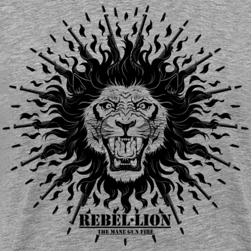 Rebellion - The mane gun fire - T-shirt Premium Homme