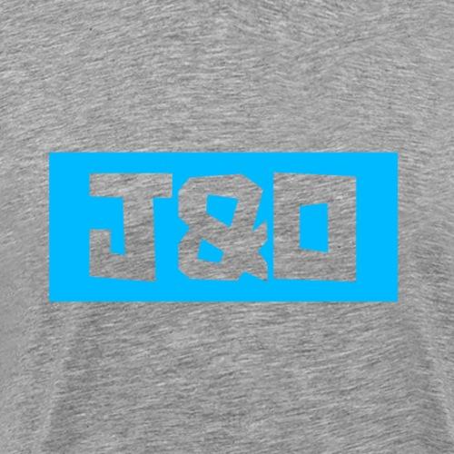 Blue robot - Men's Premium T-Shirt