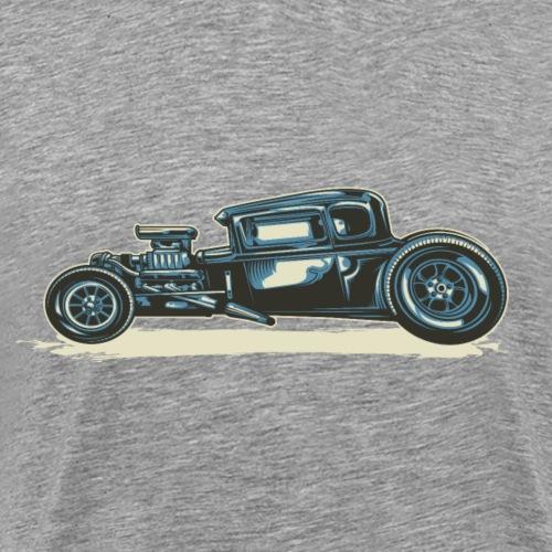 Hot Rod Vintage basic - Männer Premium T-Shirt