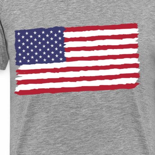 USA Flagge - Männer Premium T-Shirt