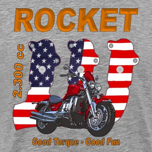 good torque – good fun - Rocket III Urrocket USA - Männer Premium T-Shirt