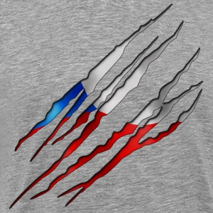Czech Republic Slit open 001 AllroundDesigns - Men's Premium T-Shirt