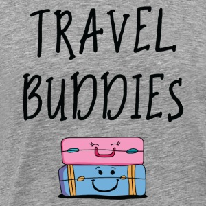 Travel buddies - Men's Premium T-Shirt