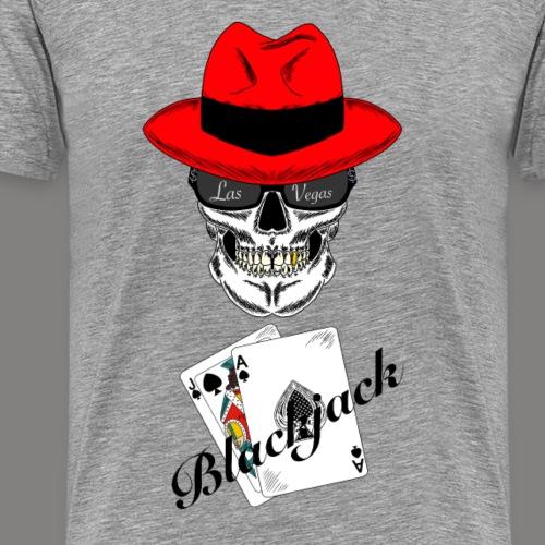 Blackjack - Männer Premium T-Shirt