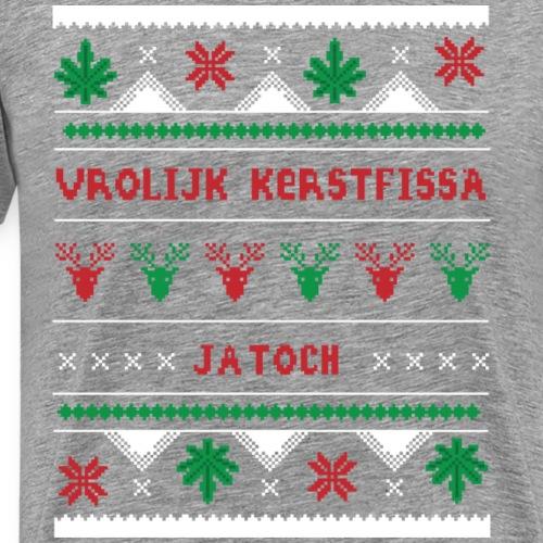 kerstfissa - Mannen Premium T-shirt