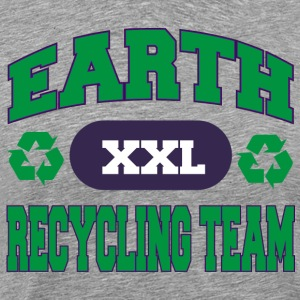 Earth Day Recycle équipe - T-shirt Premium Homme