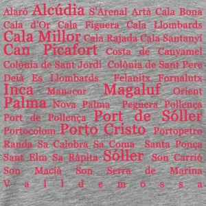 Mallorca places Pink - Men's Premium T-Shirt