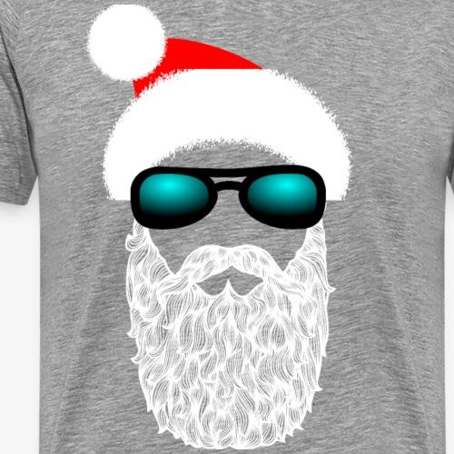 Weihnachtspullover - Hipster Claus - Männer Premium T-Shirt