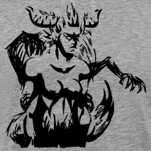 Shadowy forest Demon - Men's Premium T-Shirt