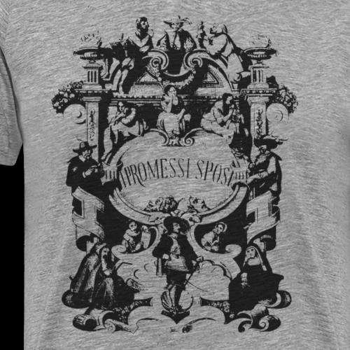 GoClassic   I Promessi Sposi - Maglietta Premium da uomo