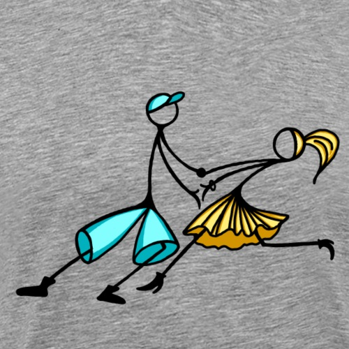 la_coppia 2 - Maglietta Premium da uomo