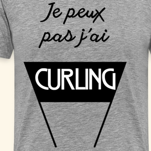 JPP j ai Curling - T-shirt Premium Homme