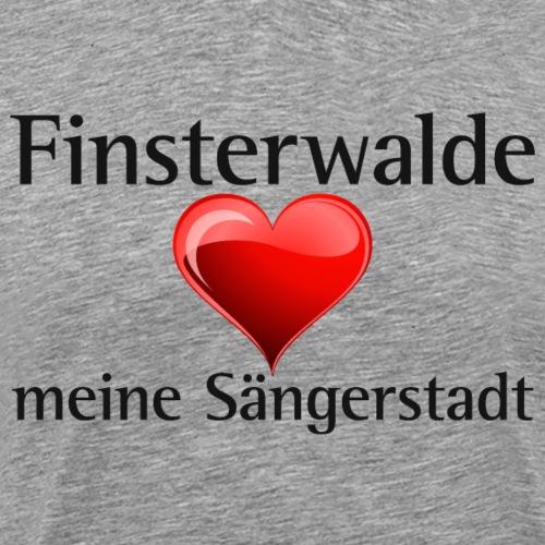 Finsterwalde Sängerstadt - I love finsterwalde - Männer Premium T-Shirt