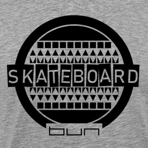 Skateboard Schwarz