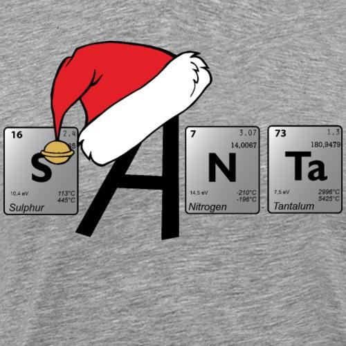 weihnachtliches Periodensystem - Männer Premium T-Shirt