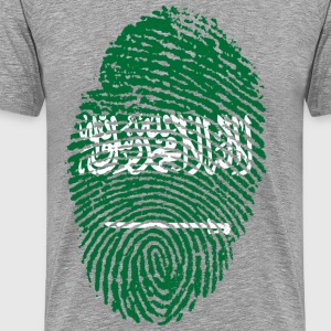 SAUDI ARABIA / ARABIA FINGERABPRUCK - Men's Premium T-Shirt
