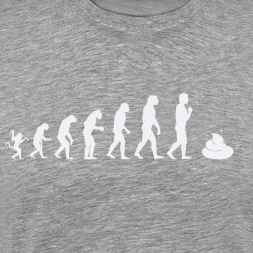 Evolution de l'homme : Pourquoi autant de m.... - T-shirt Premium Homme