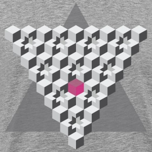 cube's & triangle - Men's Premium T-Shirt