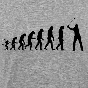 Golf Evolution Tshirt - Men's Premium T-Shirt