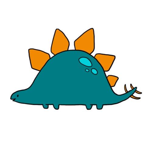 Stegosaurus - Mannen Premium T-shirt
