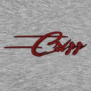 Crizz Written logo red - Mannen Premium T-shirt