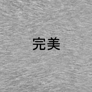 完美 ~ Perfect - Premium-T-shirt herr