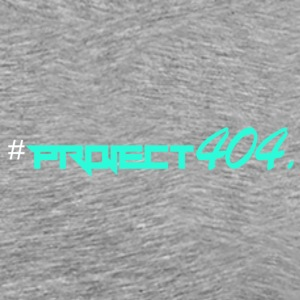 Project404 final teal weiß - Männer Premium T-Shirt