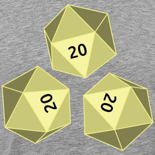 Original Dice - Männer Premium T-Shirt
