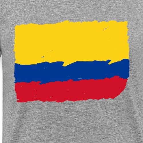 Kolumbien Flagge - Männer Premium T-Shirt