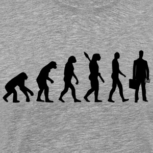 Evolution accountant accountant accountant bl - Men's Premium T-Shirt