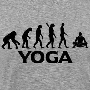 evolution YOGA bt - Männer Premium T-Shirt