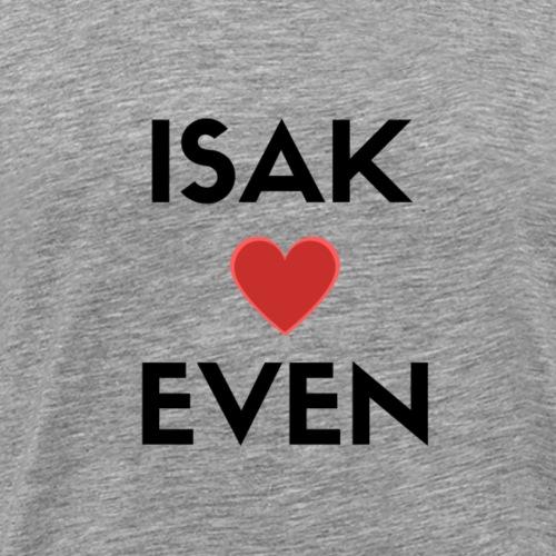 SKAM ISAK + EVEN - Premium T-skjorte for menn