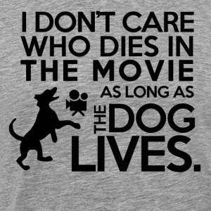 Movie Dog - Hond Liefde - Mannen Premium T-shirt