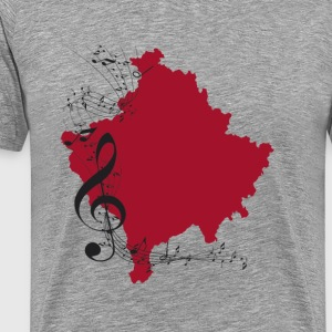 kosovo music - Men's Premium T-Shirt