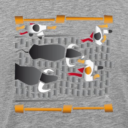 El encierro - Camiseta premium hombre