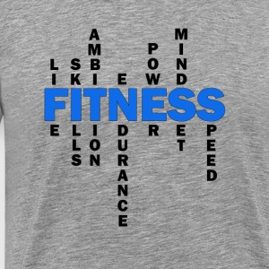 Wolf-FIT definition af fitness - Herre premium T-shirt